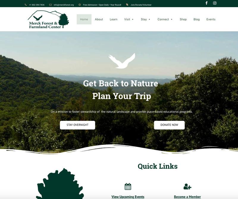 Responsive website home page design